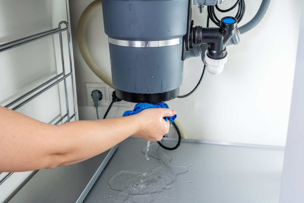 Leaky Garbage Disposal? Here's What to Know